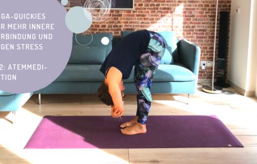 Yoga-Quickies für mehr innere Verbindung und gegen Stress, #12 Atemmeditation